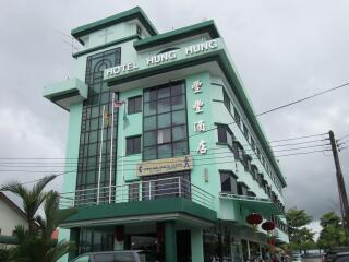 Hotel Hung Hung Kuching - Hotel Aussenansicht