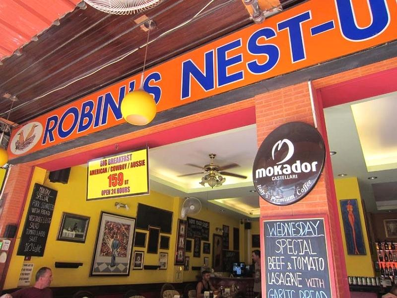 Robin's Nest Guesthouse & Restaurant - Hotels and Accommodation in Thailand, Asia