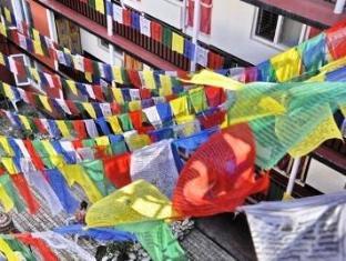 Hotel Himalaya Yoga Kathmandu - Buddhist Flag