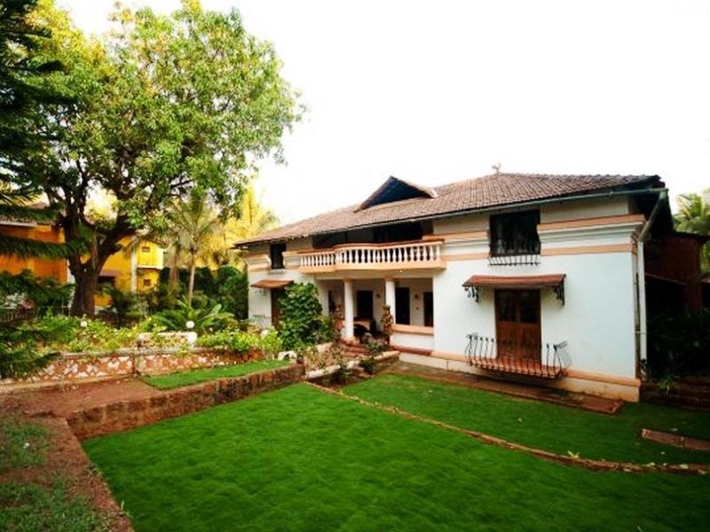 Divar Retreat Island Guest House Goa - Hotel z zewnątrz