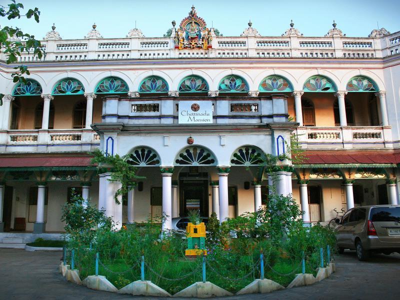 Chettinadu Mansion - Karaikudi