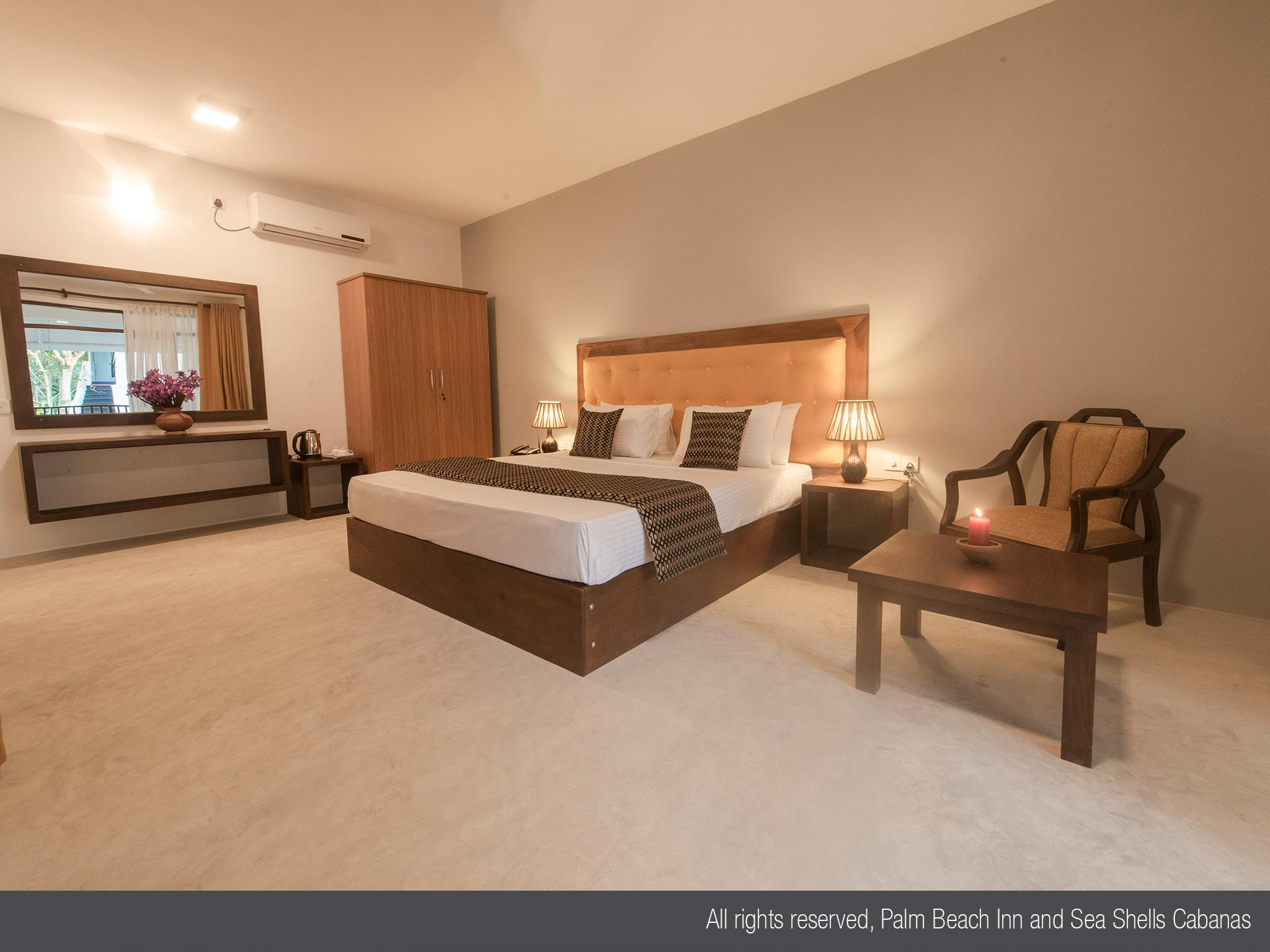 Palm Beach Inn &Sea Shells Cabanas - Hotels and Accommodation in Sri Lanka, Asia