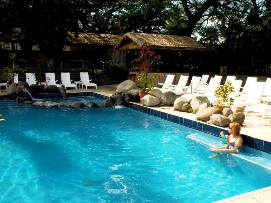 Tanoa Skylodge - Hotell och Boende i Fiji i Stilla havet och Australien