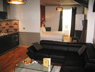 Hotel Le Robinet D'Or Parijs - Gastenkamer