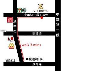 Via Hotel Taipei - Reception