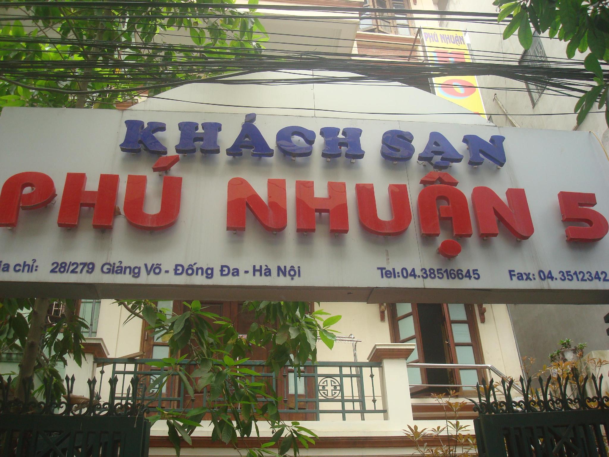 Hotell Phu Nhuan Hotel 5 - Giang Vo