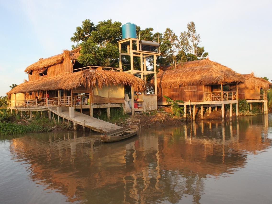 Nguyen Shack - Mekong River Homestay - Hotell och Boende i Vietnam , Can Tho