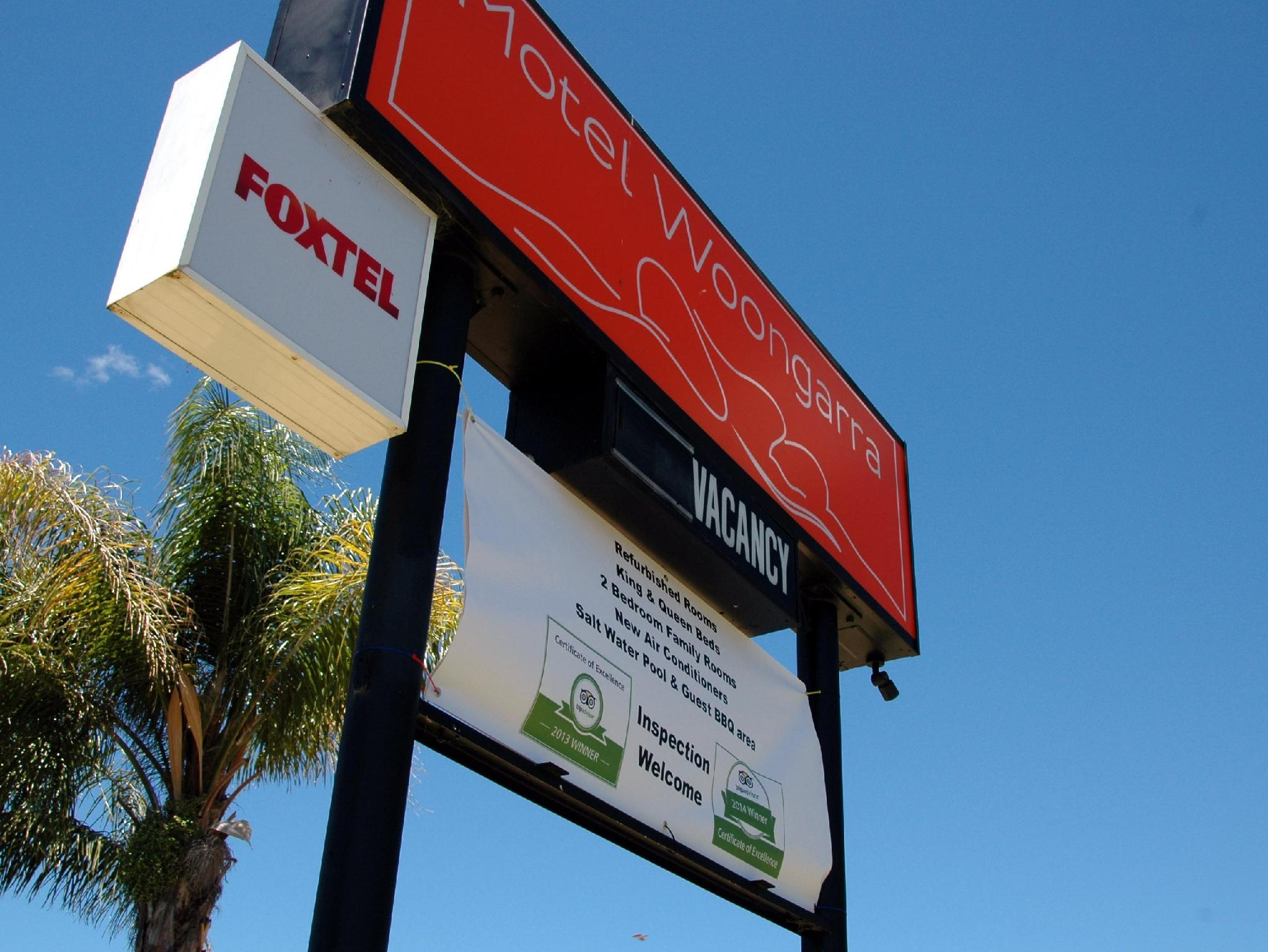 Motel Woongarra - Hotell och Boende i Australien , Rutherglen