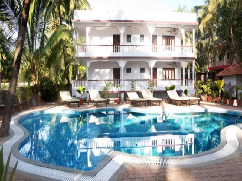 Morjim Club Resort Észak Goa