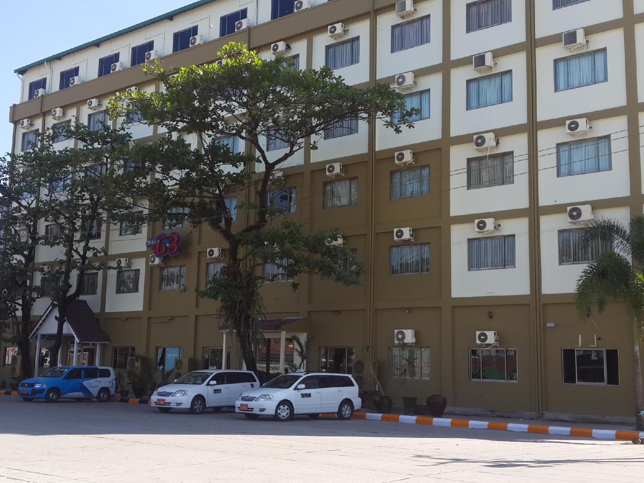Hotel 63 - Hotels and Accommodation in Myanmar, Asia