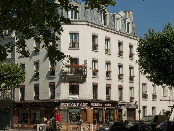 Hôtel du Château - Hotell och Boende i Frankrike i Europa