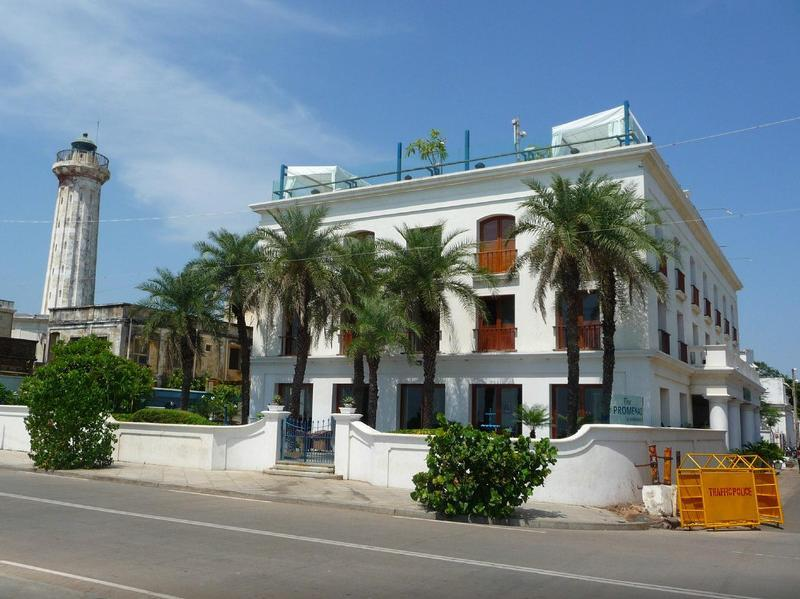 The Promenade Hotel Pondicherry - Hotel and accommodation in India in Pondicherry