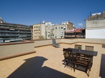 BBarcelona Apartments Penthouse with Terrace Sagrada Familia Barcelona - Balcony/Terrace