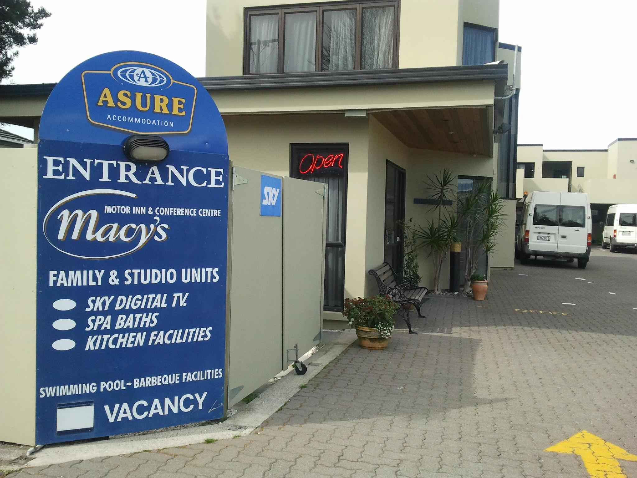 Asure Macys Motor Inn & Conference Centre - Hotels and Accommodation in New Zealand, Pacific Ocean And Australia