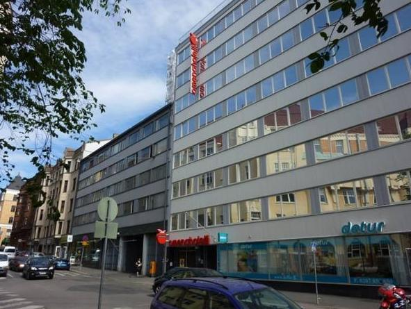 Omena Hotel Helsinki Eerikinkatu Helsinki - Hotellin ulkopuoli