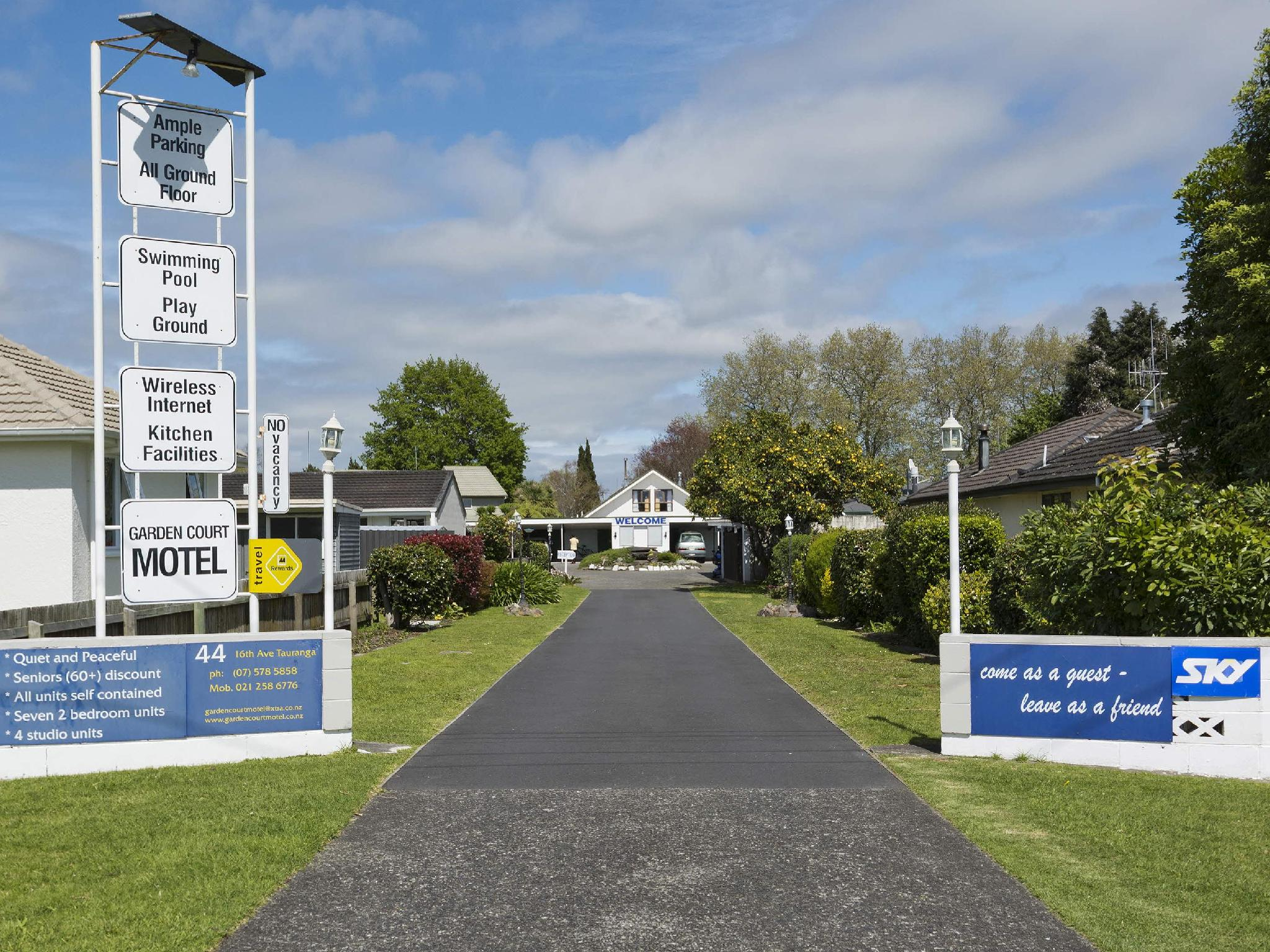 Garden Court Motel - Hotels and Accommodation in New Zealand, Pacific Ocean And Australia