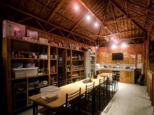 Samal Island Huts Davao - Restaurang