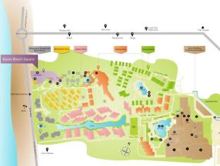 Moevenpick Villas & Spa Karon Beach Phuket Phuket - Resort Map