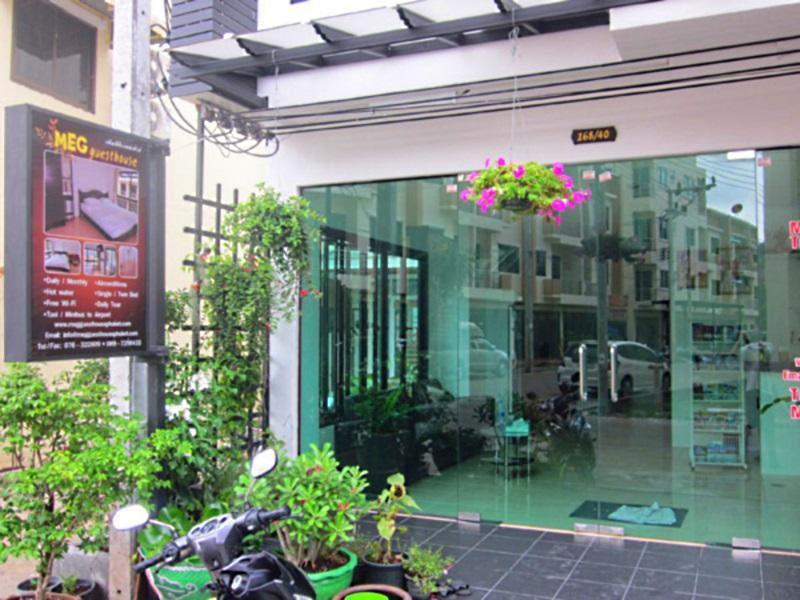 Hotell Meg Guesthouse i Patong, Phuket. Klicka för att läsa mer och skicka bokningsförfrågan