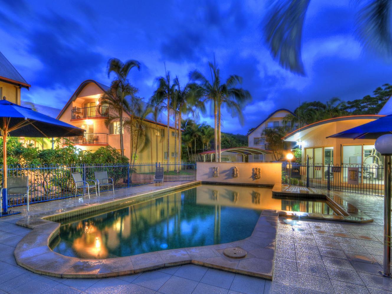 Rainbow Getaway Resort - Hotell och Boende i Australien , Rainbow Beach