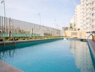 Rent Top Apartments Duplex Penthouse CCIB With Pool Barcelona - Swimming pool