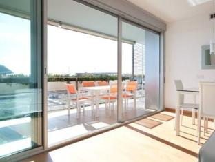 Rent Top Apartments Duplex Penthouse CCIB With Pool Barcelona - Balcony/Terrace
