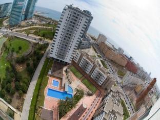 Rent Top Apartments Exclusive Beachfront Barcelona - view