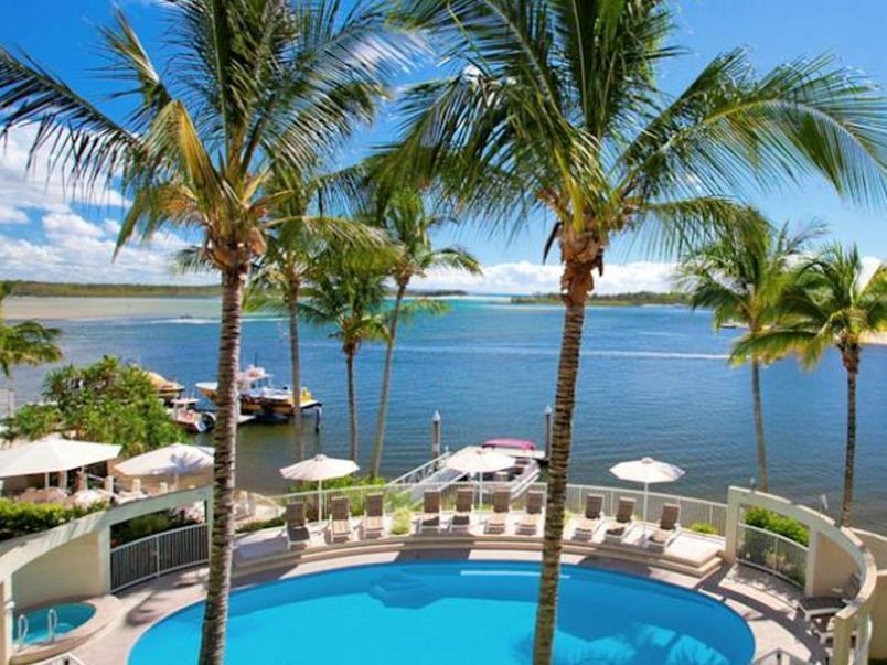 Noosa Pacific Riverfront Resort - Hotell och Boende i Australien , Noosa