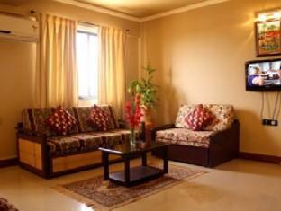 Om Shiv Hotel South Goa - Luxury Suite Sitting Area