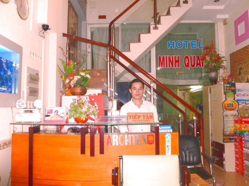Hotel Minh Quang- Pham Ngu Lao - Hotell och Boende i Vietnam , Ho Chi Minh City