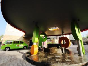 POP! ホテル クタビーチ バリ島 - エントランス(玄関)