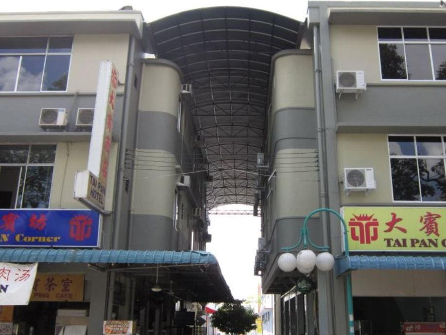 Tai Pan Hotel קוצ'ינג - בית המלון מבחוץ