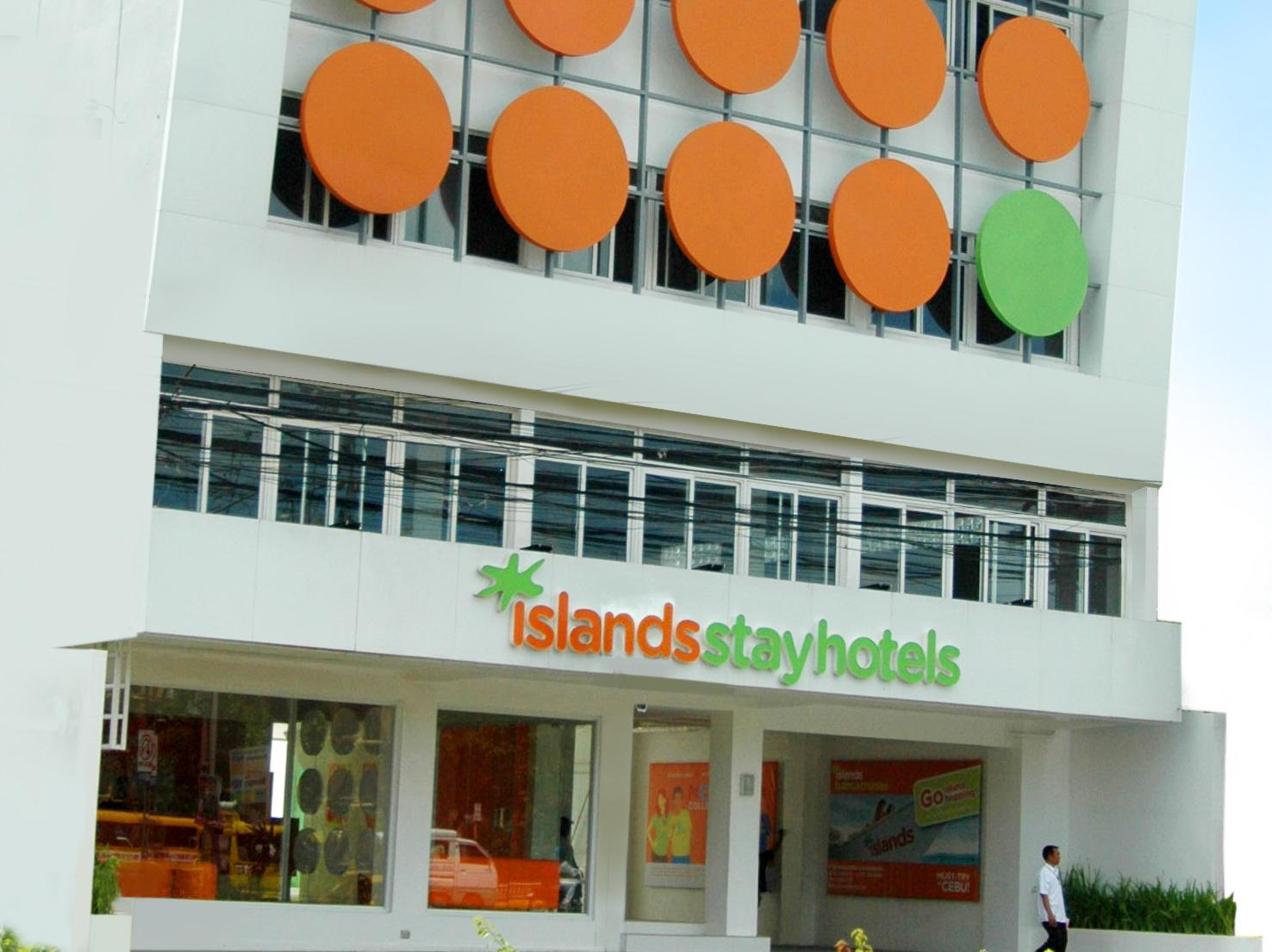 Islands Stay Hotels - Mactan Cebu City - Hotellet från utsidan