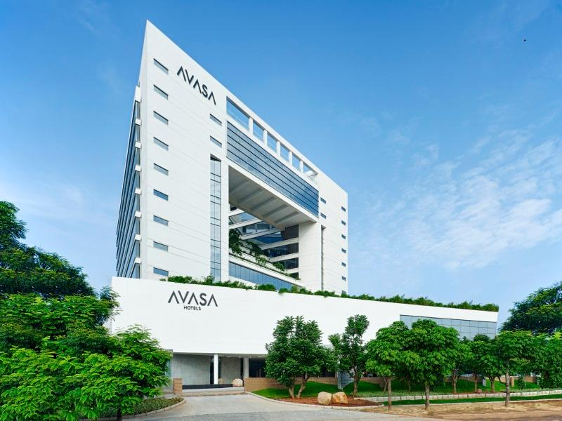 Avasa hotel gachibowli hyderabad india great for Top design hotels india