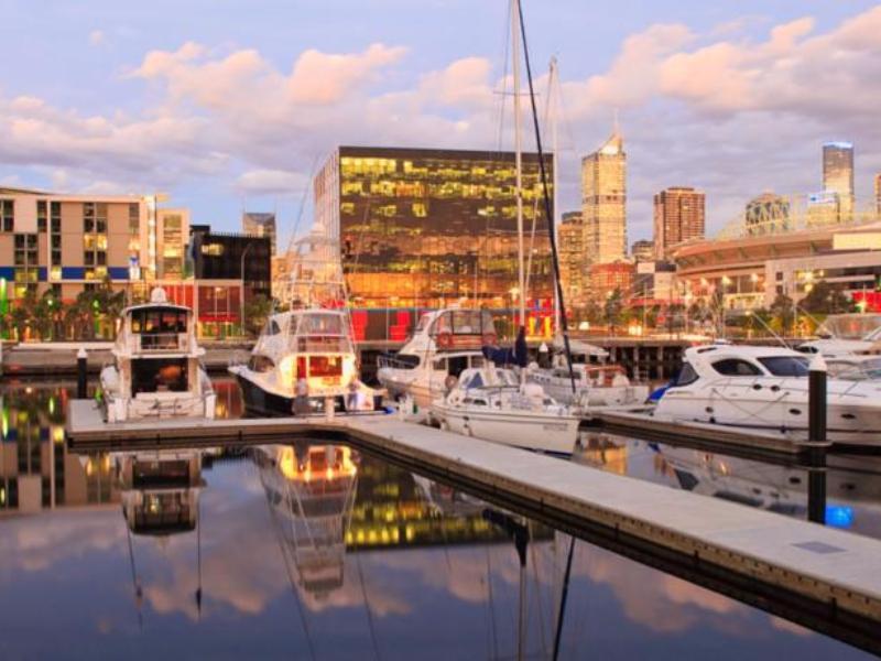 Digital Harbour Apartments - Hotell och Boende i Australien , Melbourne