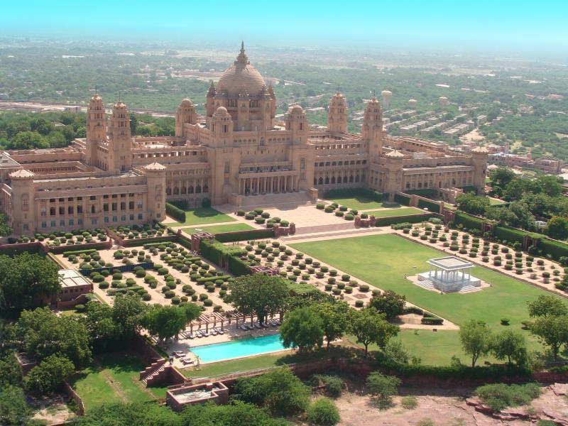 Umaid Bhawan Palace - Hotell och Boende i Indien i Jodhpur