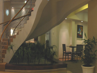 Indochine Hotel Ho Chi Minh City - Helix Stair Case