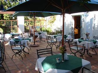 Eikendal Lodge Stellenbosch - Breakfast Terrace