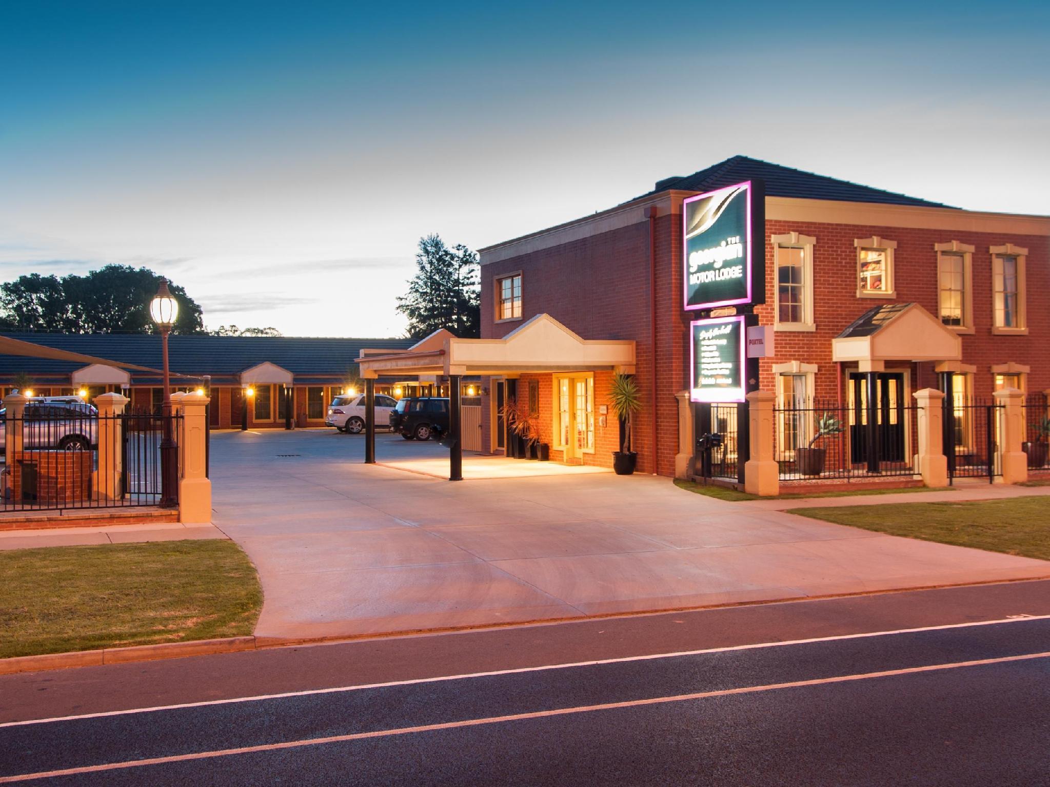 Georgian Motor Lodge - Hotell och Boende i Australien , Echuca / Moama