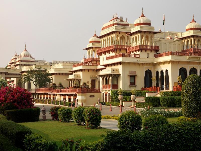 Rambagh Palace Hotel - Hotell och Boende i Indien i Jaipur