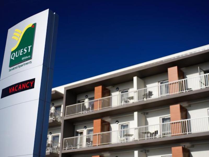 Quest Mildura Serviced Apartments - Hotell och Boende i Australien , Mildura