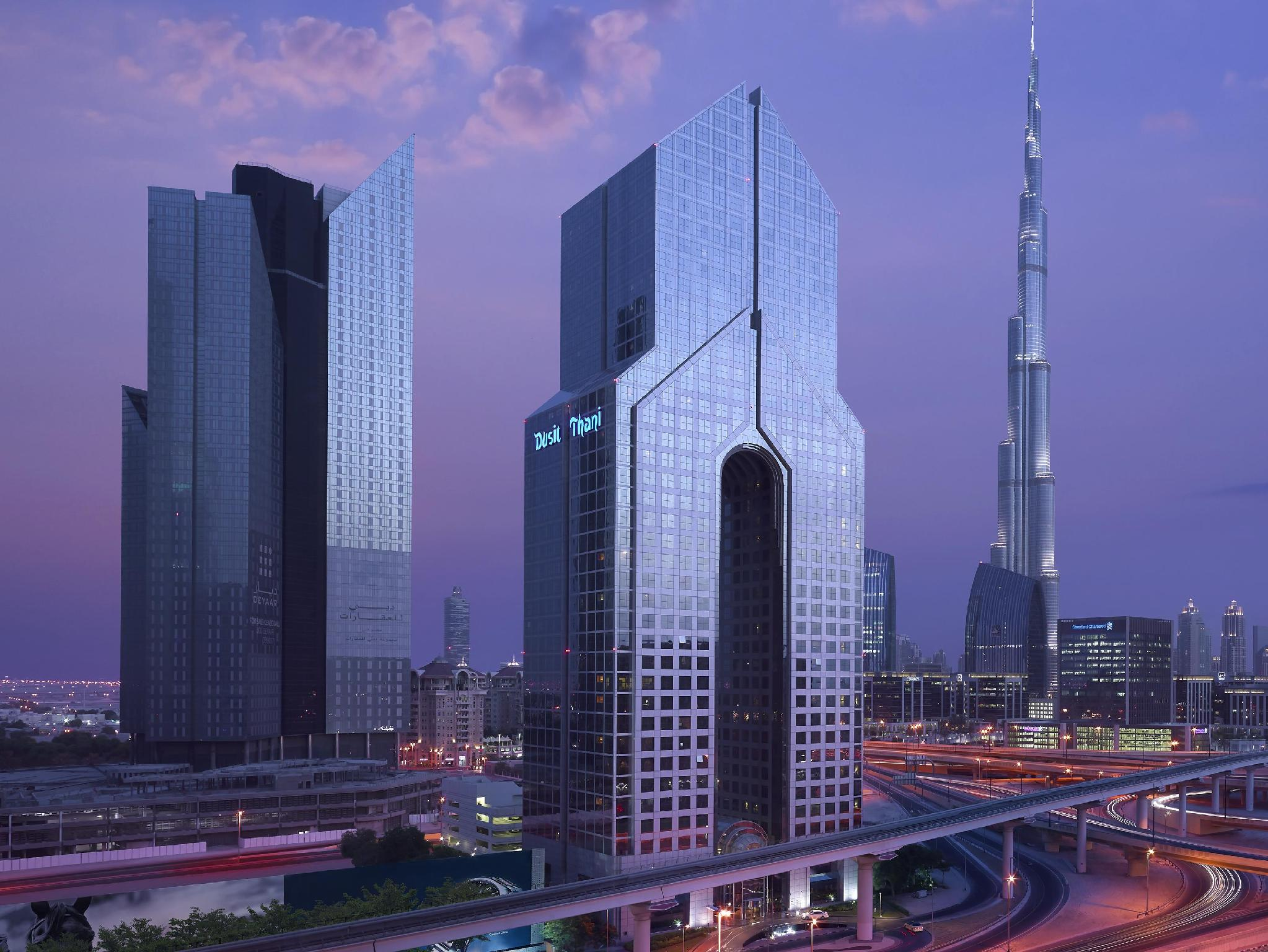 Dusit thani dubai hotel world trade centre difc dubai for Nice hotels in dubai