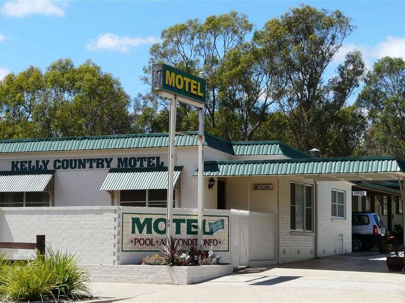 Glenrowan Kelly Country Motel - Hotell och Boende i Australien , Wangaratta