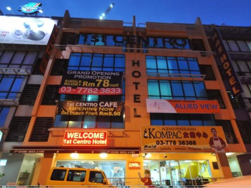 1st Centro Hotel - Hotels and Accommodation in Malaysia, Asia