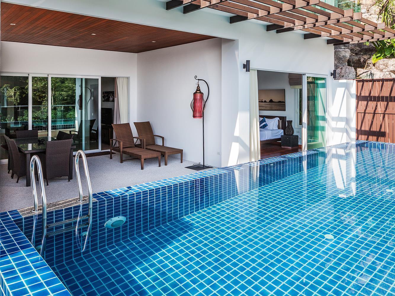 Kamala Falls Serviced Apartment and Residence Phuket - Utsiden av hotellet