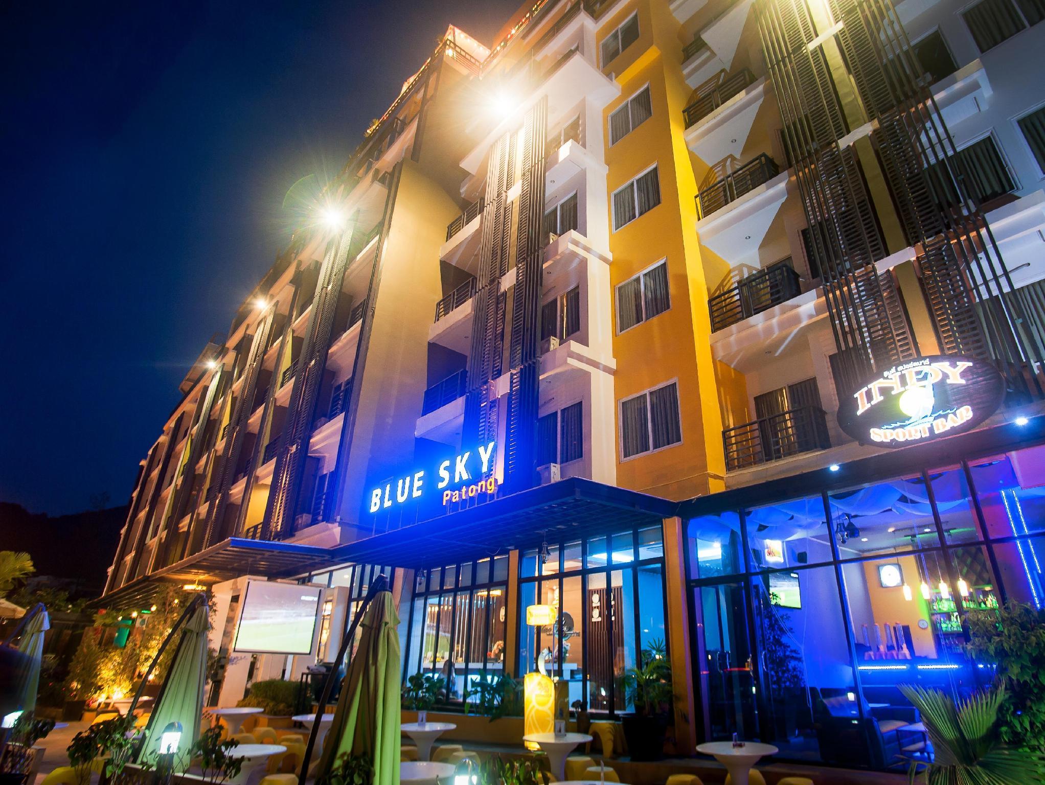 Hotell Blue Sky Patong Hotel i Patong, Phuket. Klicka för att läsa mer och skicka bokningsförfrågan