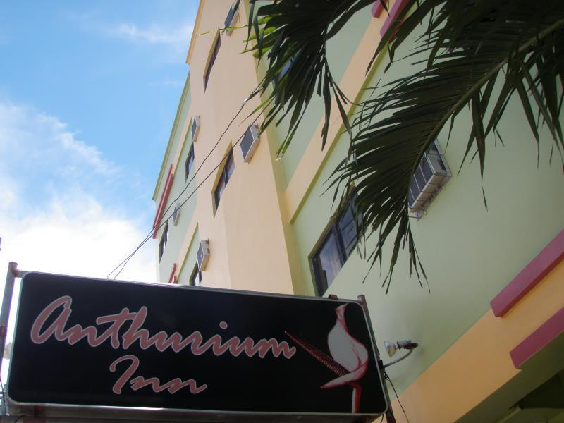 Anthurium Inn Cebu City - Hotellet från utsidan