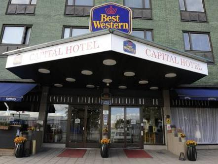 Best Western Capital Hotel Stockholm - Exterior
