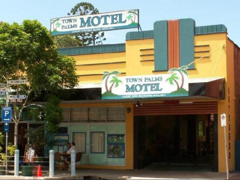 Town Palms Motel - Hotell och Boende i Australien , Murwillumbah