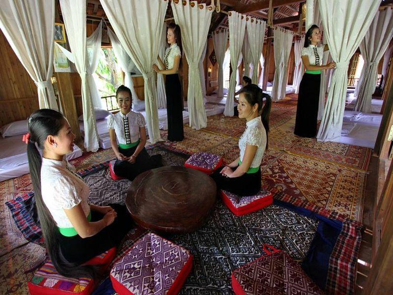 C2I Stilt - House - Hotell och Boende i Vietnam , Mai Chau (Hoa Binh)